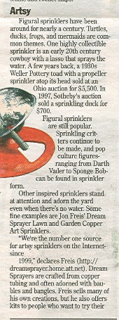 history of sprinkler art