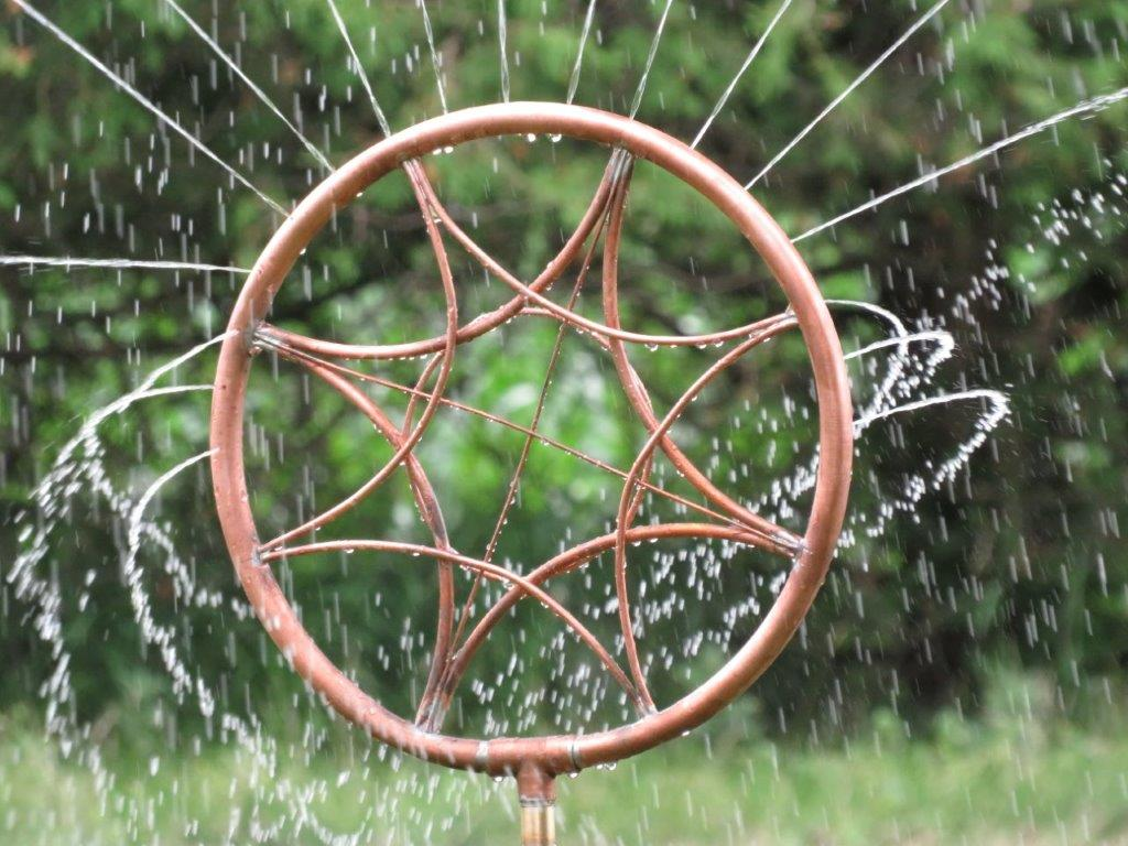 copper sprinkler compass
