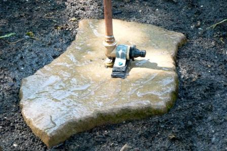 stepping stone sprinkler