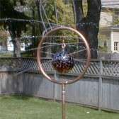glass witch ball sprinkler